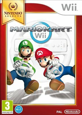 New Mario Kart Wii Nintendo Selects Game Only UK PAL Classic Go Kart Racing Game