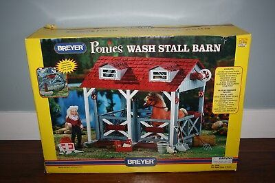 Breyer Ponies Wash Stall Barn In Box Never Used Complete