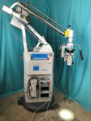 Carl Zeiss OPMI CS-NC Surgical Microscope NC-2 Contraves Stand Light Source F170