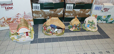 LOT of 4 LILLIPUT LANE structures Petticoat-Lilly Valley-Cockington -Lapworth