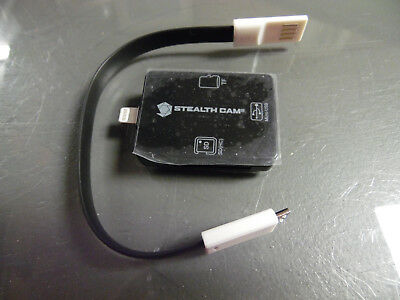 STEALTH CAM iOS SD MICRO MEMORY CARD READER*Apple Android