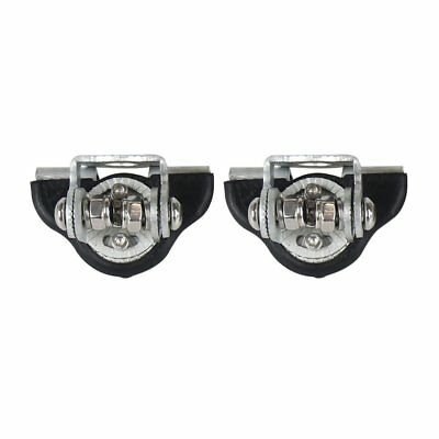 2Pcs Practical Engine Cover Fixed Clip Car Light Holder Stainless Steel Adapter