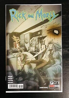 Rick And Morty #32 Variant Flesh Curtains BAND Emmett Helen Squanchy 1 LTD 666