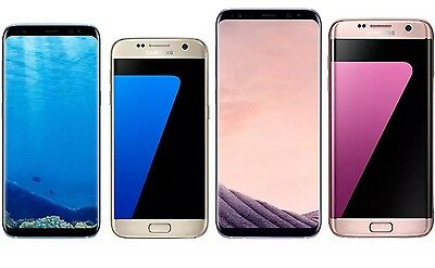 Samsung Galaxy S8 Plus S8, S7 Edge, S7, S6 Unlocked T-Mobile AT&T - Android OS!