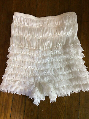 White MALCO MODES Square DAnce Pettipants, Medium, N-20, never worn