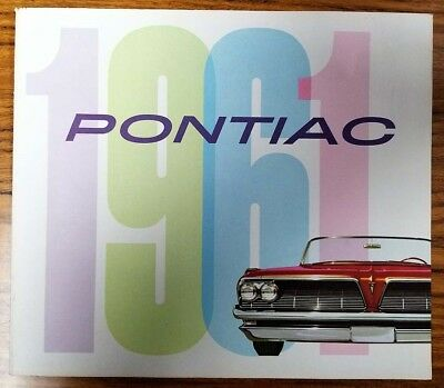 1961 Pontiac Deluxe Brochure - Excellent - FREE SHIPPING