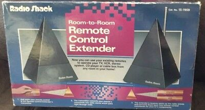 Radio Shack Room-To-Room Remote Control Extender 15-1959 TV VCR Stereo Audio CD
