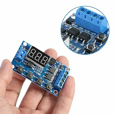 Trigger Cycle Timer Delay Switch 12 24V Circuit Board MOS Tube Control BBC