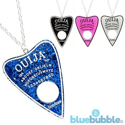 Bluebubble BLACK MAGIC Ouija Board Pointer Necklace Spirit Seance Ghost Psychic