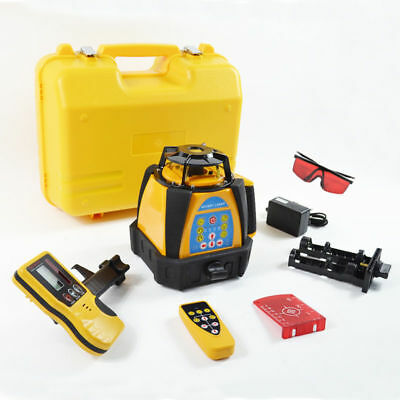 Top Hq Self-Leveling Rotary/ Rotating Laser Level 500M Range High Accuracy New