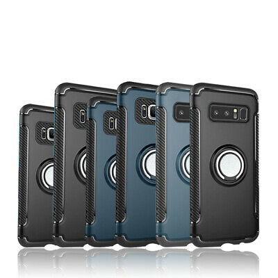 For Samsung Galaxy Note 8/S8+Plus Ring Holder Shockproof Armor Case Cover
