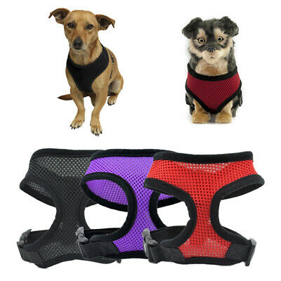 Pet Control Harness for Dog & Cat Soft Mesh Walk Collar Safety Strap Vest