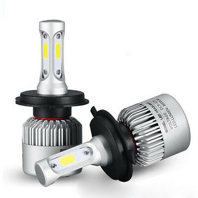 Utility H4 9003 led 8000LM Headlight Car Hi/Lo Beam Auto Bulbs 6000K White