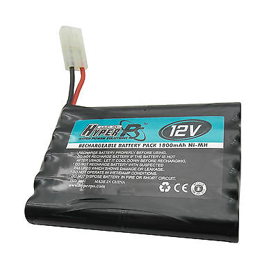 1 pc 12V 10*AA 1800mAh NI-MH Rechargeable Battery Pack with Tamiya Plug HyperPS