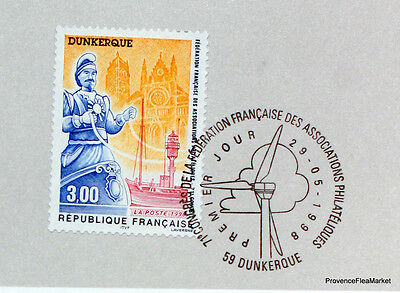 Yt 3164 DUNKERQUE FRANCE FDC NOTICE PHILATELIC PREMIER DAY