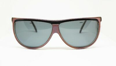 71bc1a09657 SAFILO SUNGLASSES ITALY Vintage T Force NEW Dark Blue Rectangular ...