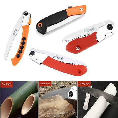 Foldable Manual Pruning Saw Outdoor Patio Gardening Tree Trimming Cutting Tool T