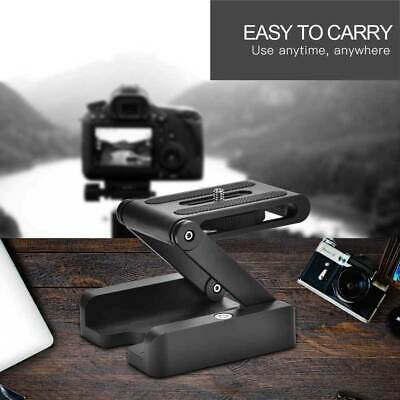 Z-Type Camera Folding Tripod Flex Pan Tilt Ball Head Desk Holder Mount For DSLR