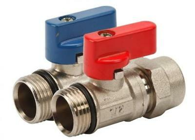 "Mini Ball Valve PEX  16x1/2""M / MANIFOLD ISOLATION VALVES."