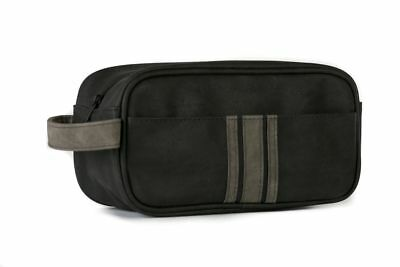 Danielle Brompton & Langley Men's Black and Charcoal Small Shape Box Bag 70021