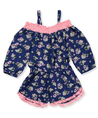 RMLA Girls' Romper with Necklace