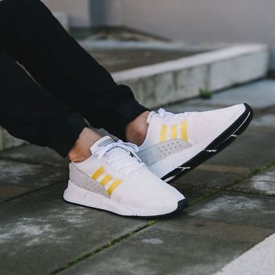best service 58df8 d27ee ADIDAS ORIGINALS EQT Cushion Adv White Yellow Stripes New Men Equipment  CQ2375