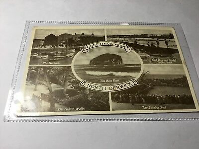 North Berwick Multiview Postcard East Lothian #524
