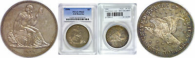 1836 Seated Liberty Dollar PCGS PR-62 J-60 Restrike