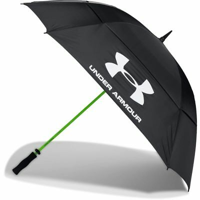 Under Armour Dual Canopy Golf Umbrella Black/High Vis Yellow