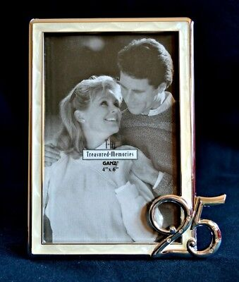 25th Wedding Anniversary Photo Frame New Boxed Picture Gift