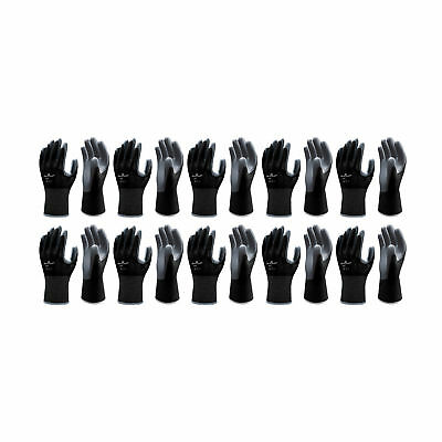 Atlas T370S Seama Nitrile Small European Style Assembly-Grip Work Glove, 10-Pair