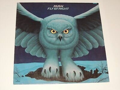 RUSH fly by night Lp RECORD US SRM-1-1023 1975