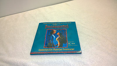 Pocahontas Phonecard Set New Zealand Foreign 1995 Mint Unused in Folder