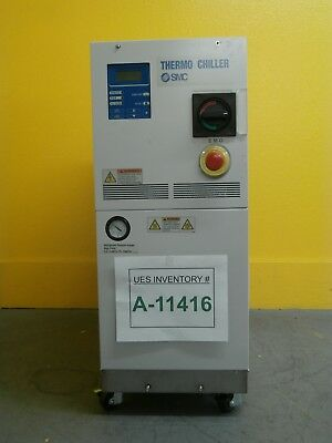 SMC HRZ010-WS-Z Thermo Chiller Series HRZ Cosmetic Damage Used Tested Working