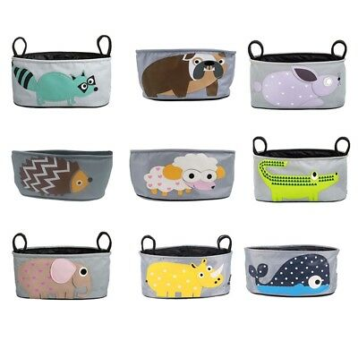Babies Cart Cute Holder Storage Bag Accessory Pouch Cup Bottle Organizer Zone