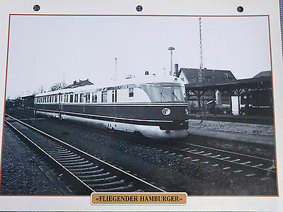 FLIEGENDER HAMBURGUESA Enchufe tren Atlas 1995