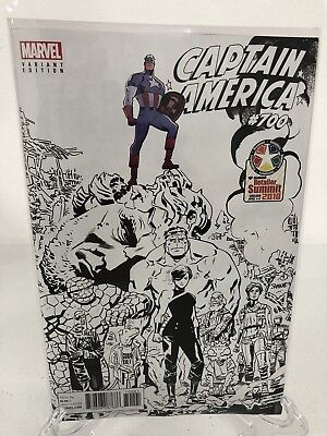 Captain America #700 2018 Retail Summit Variant C2E2 Marvel Comics Unread New