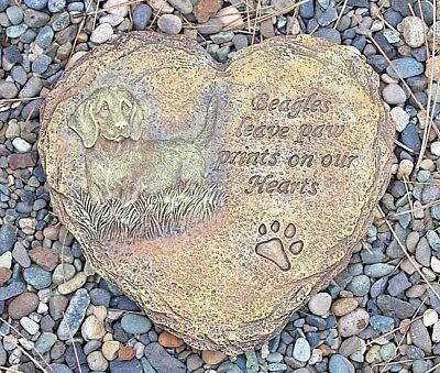Beautiful Beagle Dog Wall Hanging Plaque or Garden Stepping Stone