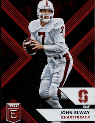 2018 Panini Elite Draft Picks Football Base Singles (Pick Your Cards)