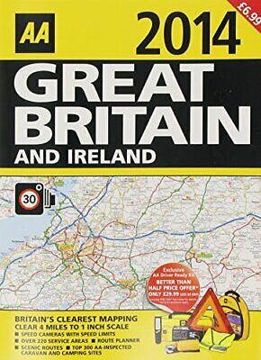 Great Britain and Ireland 2014 by AA Book The Cheap Fast Free Post