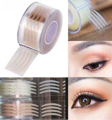 600pcs Invisible Fiber Double Eyelid Lift Strips Tape Adhesive Stickers Eye Tape