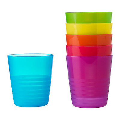 24 x IKEA plastic cups for kids party picnic beach summer BRAND NEW
