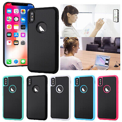 Suction Self Stick Anti-Gravity Shockproof Case Cover For iPhone 6 7 8 XS MAX XR