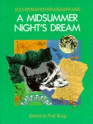 A Midsummer Night's Dream (Illustrated Shak... by Shakespeare, William Paperback