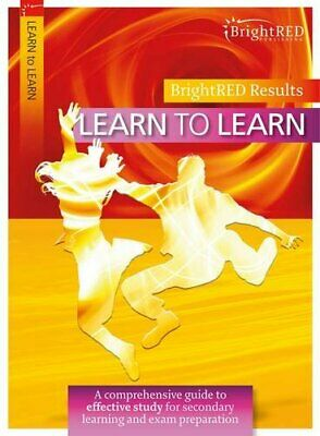Learn to Learn (Bright Red) by Shona Cochrane Book The Cheap Fast Free Post