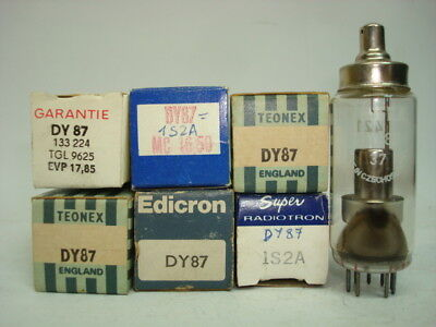 Dy87 Tube.  1S2A Tube. Mixed Brands. Nos / Nib. Rc151