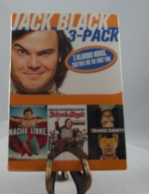 Jack Black: 3-Film Collection (DVD, 2013, 3-Disc Set)-Brand New/Sealed
