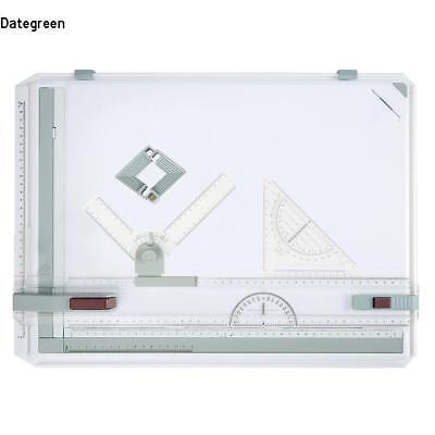 A3 Drawing Board Table Top Architect Technical Design Box Set Magnetic Bar Clamp