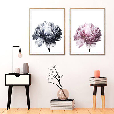 Flower Modern Wall Art Canvas Painting Picture Home Decor Mural Frame Poster