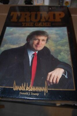 1989 Donald Trump:The Game  Milton Bradley Board Game FACTORY SEALED